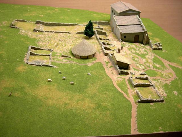 MAQUETAS CLEMENTE · Veranes época Medieval 1-1000