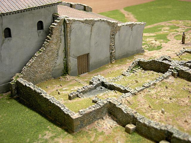 MAQUETAS CLEMENTE � Veranes época Medieval 1-1000 � Maquetas