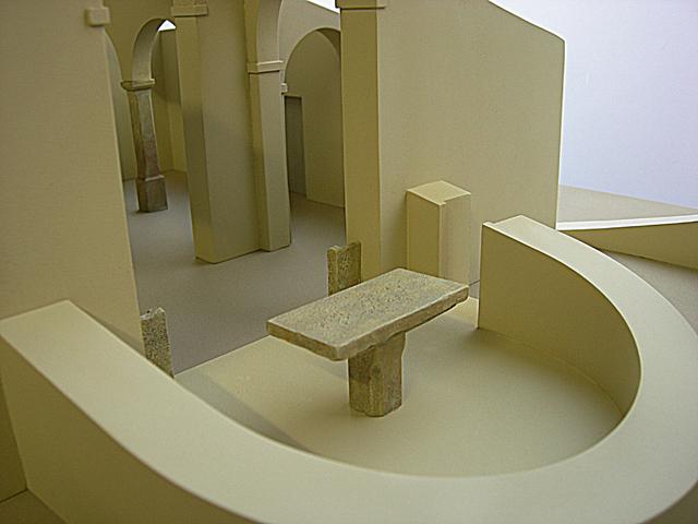 MAQUETAS CLEMENTE � Proyecto reconstrucción Iglesia Prerrománica de Santianes 1-40
