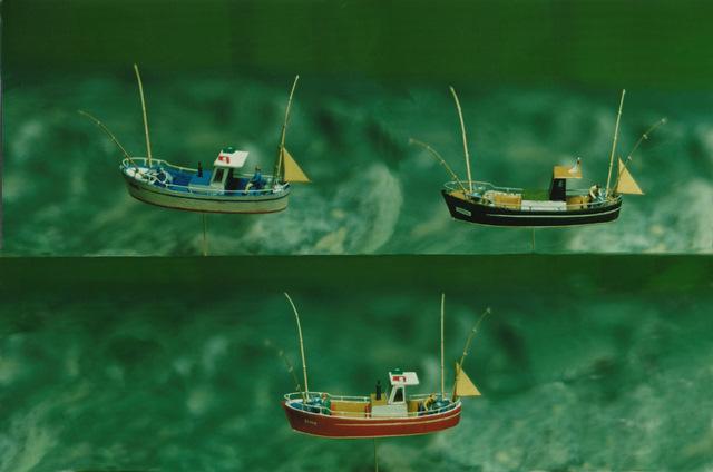 MAQUETAS CLEMENTE · Artes pesca Cantábrico 1-150 · Maquetas