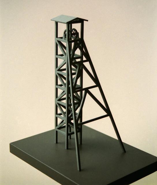 MAQUETAS CLEMENTE · Castillete Minero 1-200