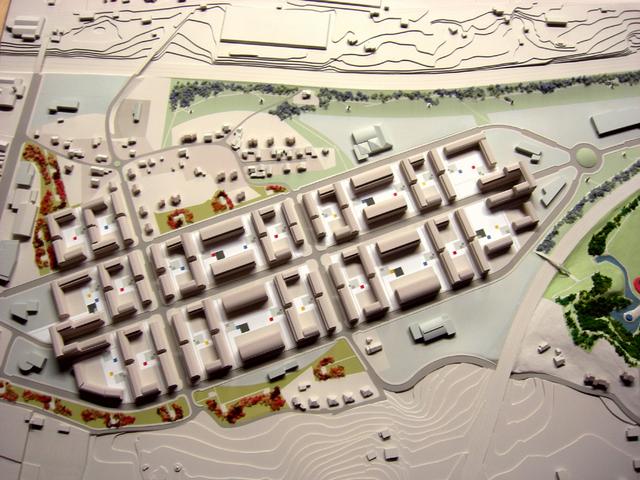 MAQUETAS CLEMENTE · Urbanización Roces Residencial 1-1500 · Maquetas