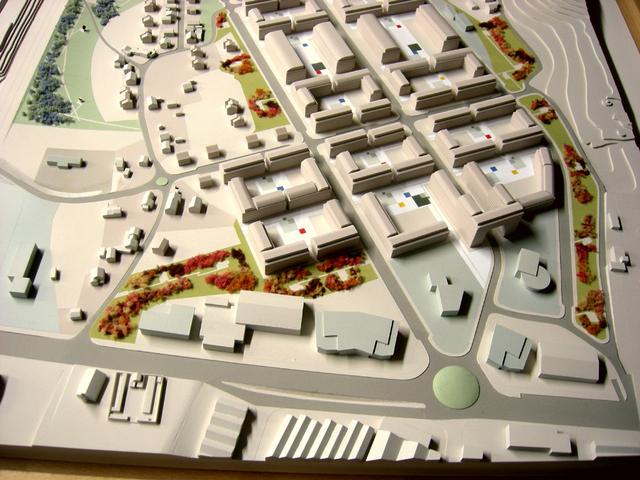 MAQUETAS CLEMENTE � Urbanización Roces Residencial 1-1500