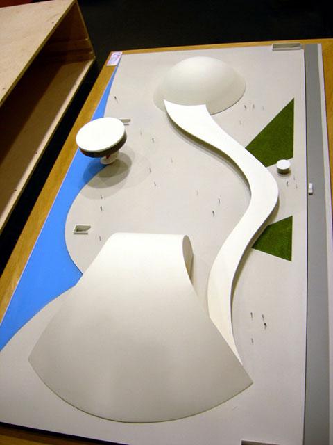 MAQUETAS CLEMENTE · Centro Internacional Oscar Niemeyer 1-200 · Maquetas