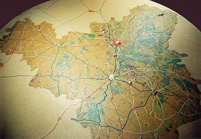 MAQUETAS CLEMENTE · Ruta Vinos provincia Valladolid 1-50000 · Maquetas