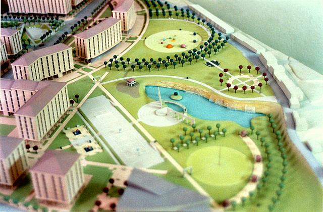 MAQUETAS CLEMENTE � Urbanizacion montevil este  1-500 � Maquetas