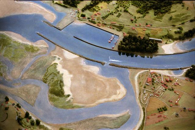MAQUETAS CLEMENTE · Reserva natural de la Ria de Villaviciosa 1-2500 · Maquetas