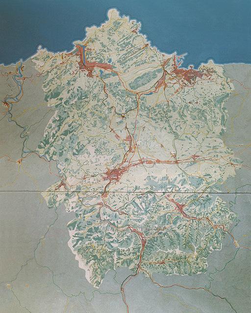 MAQUETAS CLEMENTE � Area Central del Principado 1-2500
