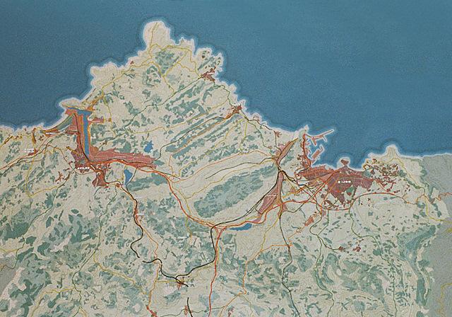 MAQUETAS CLEMENTE · Area Central del Principado 1-2500 · Maquetas