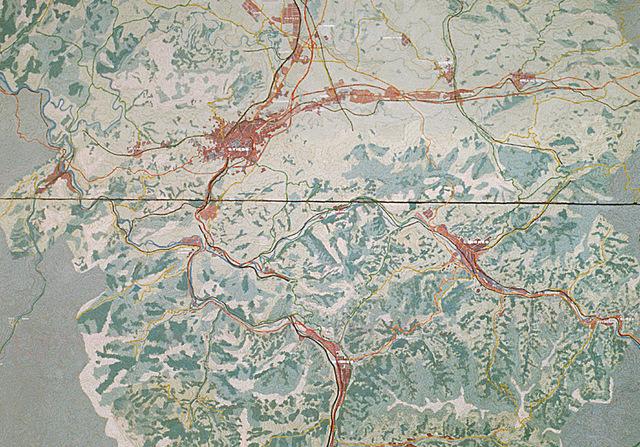 MAQUETAS CLEMENTE � Area Central del Principado 1-2500 � Maquetas