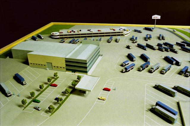 MAQUETAS CLEMENTE · Instalaciones Casintra en Meres-Siero 1-200 · Maquetas